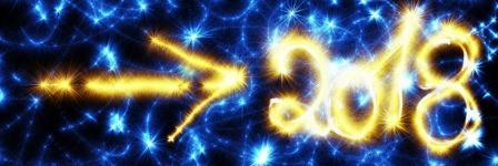 Новый год 2018 огни стрелка